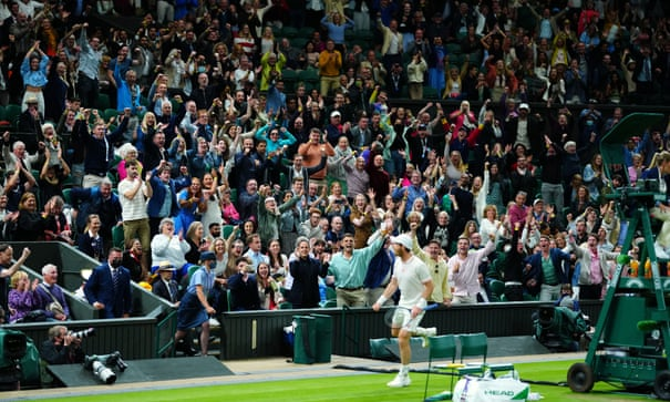Andy Murray fights back to beat Oscar Otte in five-set Wimbledon epic